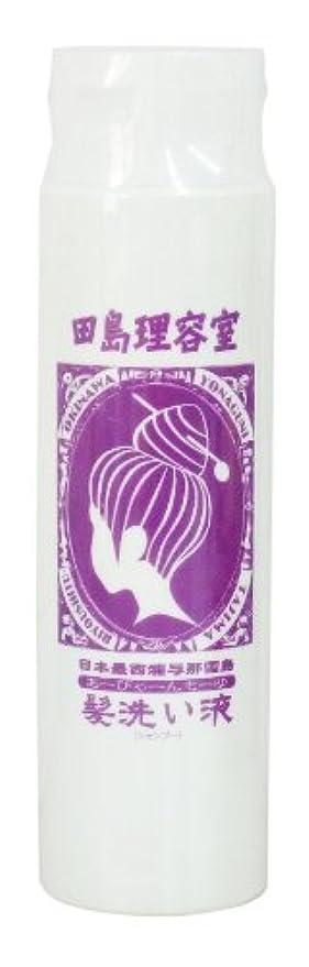 鎖勘違いするソーダ水田島理容室 髪洗い液 「グンナシャンプー」(ダメージヘア用)