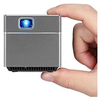 (5.5cm 172g wifi Bluetooth接続) 搭載でPCスマホ無しでも活躍できる超小型モバイルプロジェクター 収納ポーチ A エース Android™ バインダースクリーンセット Pico Cube ピコキューブ
