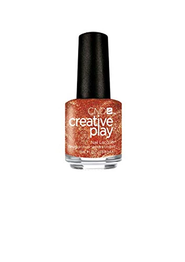 お風呂を持っている難しい無駄なCND Creative Play Lacquer - Lost in Spice - 0.46oz / 13.6ml