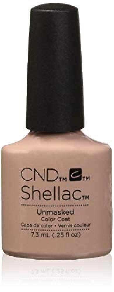 戦艦フェンス論争的CND Shellac - The Nude Collection 2017 - Unmasked - 7.3 mL / 0.25 ozUnmasked