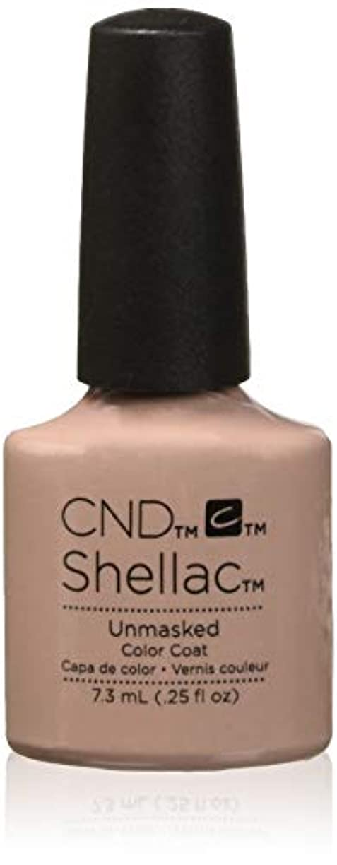 どこかスピン一般的なCND Shellac - The Nude Collection 2017 - Unmasked - 7.3 mL / 0.25 ozUnmasked