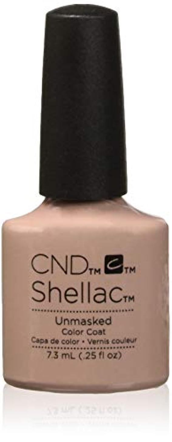 扇動する野望保守的CND Shellac - The Nude Collection 2017 - Unmasked - 7.3 mL / 0.25 ozUnmasked