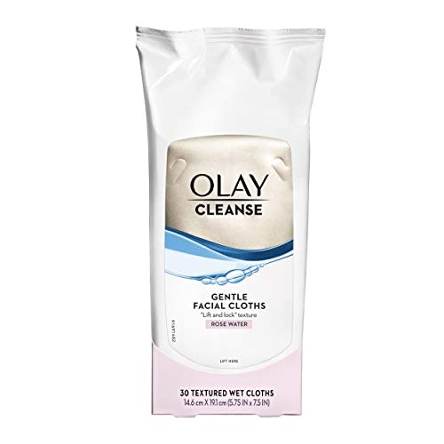 教科書アラームミトンOlay Normal Wet Cleansing Cloths 30 Count (Pack of 3) (並行輸入品)