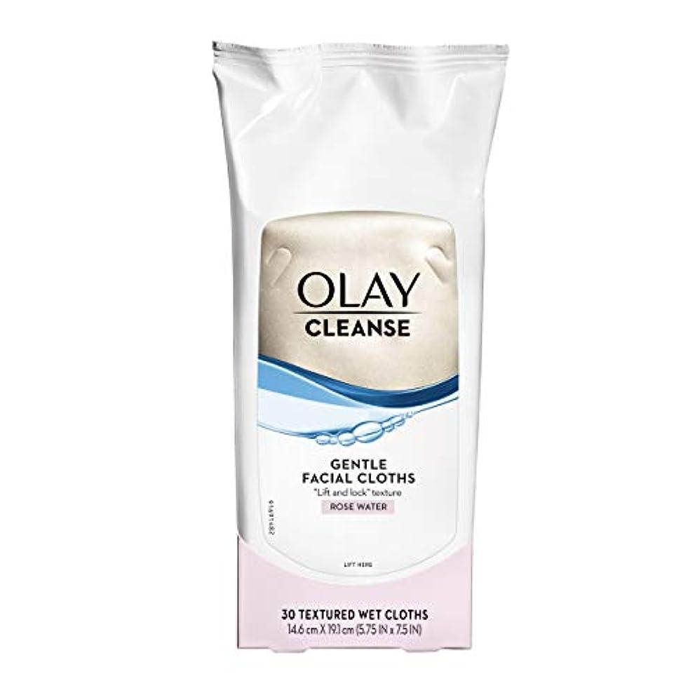 天才曲インサートOlay Normal Wet Cleansing Cloths 30 Count (Pack of 3) (並行輸入品)