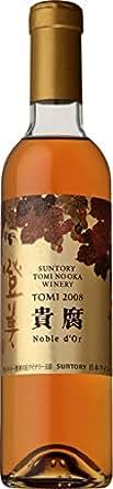 日本ワイン サントリー 登美の丘ワイナリー 登美 ノーブルドール 2008 [白ワイン 甘口 日本 375ml ]