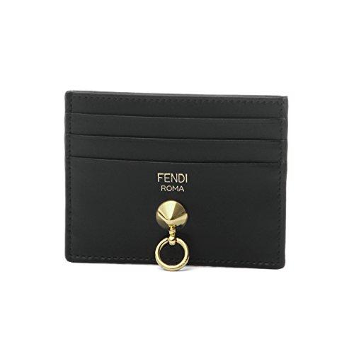 (フェンディ) FENDI カードケース ブラック 8M0269 SME F0KUR [並行輸入品]