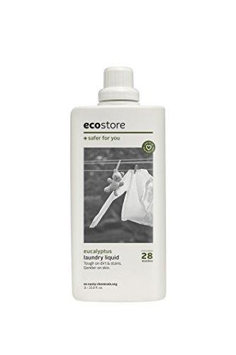 ecostore エコストア ランドリーリキッド 【ユーカリ】 1L 洗濯用 液体 洗剤