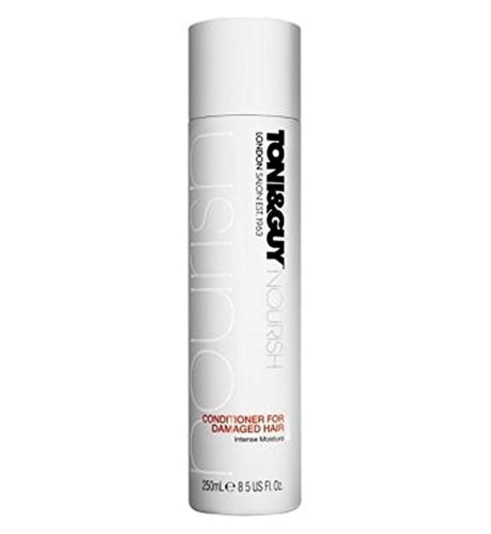 瞳気体のできたToni&Guy Nourish Conditioner for Damaged Hair 250ml - トニ&男は傷んだ髪の250ミリリットルのためにコンディショナーを養います (Toni & Guy) [並行輸入品]
