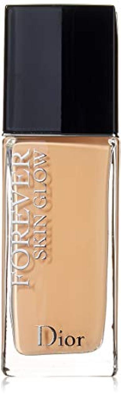 ふざけたダッシュサーキットに行くクリスチャンディオール Dior Forever Skin Glow 24H Wear High Perfection Foundation SPF 35 - # 2.5N (Neutral) 30ml/1oz並行輸入品