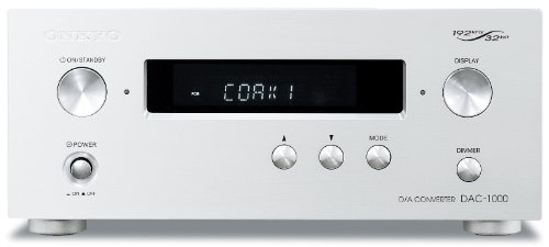 ONKYO D/Aコンバーター ハイレゾ音源対応 シルバー DAC-1000(S)