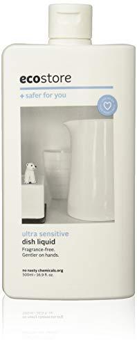 ecostore エコストア ディッシュウォッシュリキッド 【無香料/ウルトラセンシティブ】 500mL 食器洗い用 洗剤