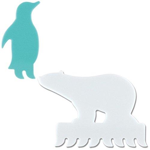 マーナ アニマルキーボードブラシ ペンギンセット S374A...