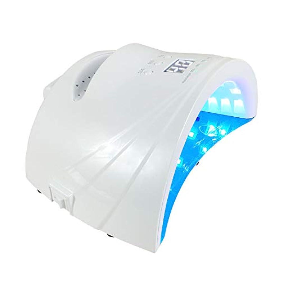 目を覚ます頬骨不安定なシェラックおよびゲルの釘のための48W専門の紫外線およびLEDの釘ランプそして釘のドライヤーの表示