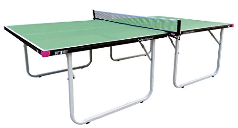 バタフライコンパクトインドア/アウトドアTable Tennis Table