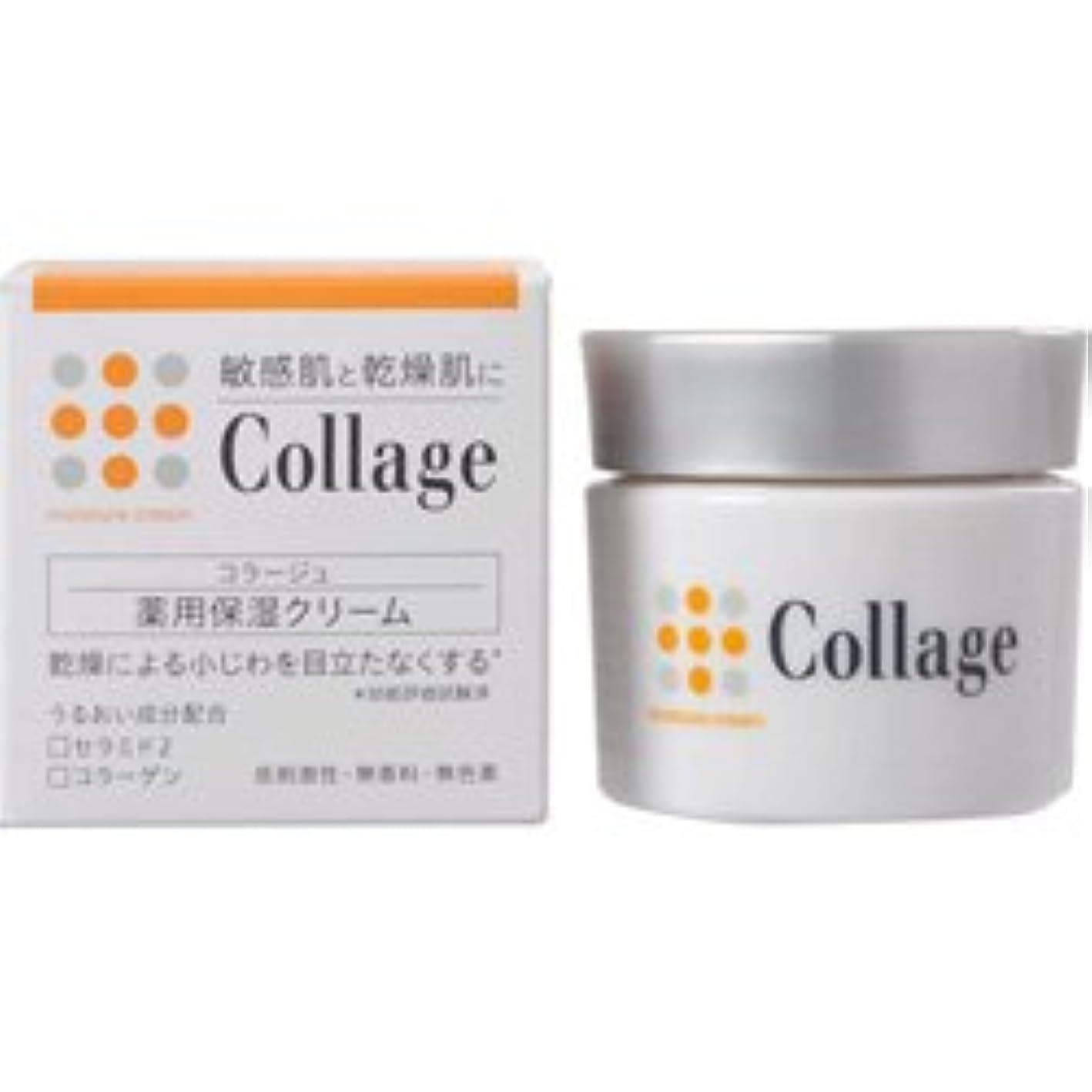 免疫する階下悲しいことに【持田ヘルスケア】 コラージュ薬用保湿クリーム 30g (医薬部外品) ×10個セット