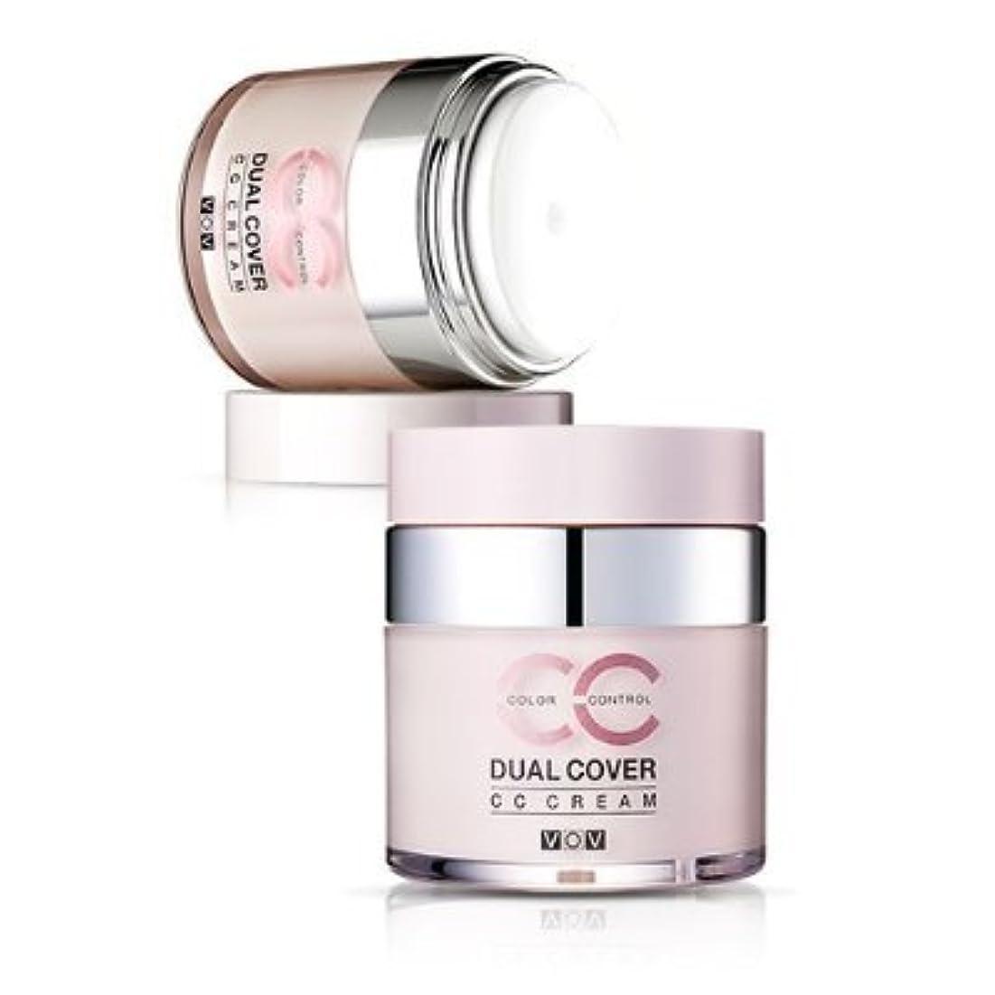 廃止する海外質量VOV Dual Cover CC Cream #21 Light Tone Up Cover