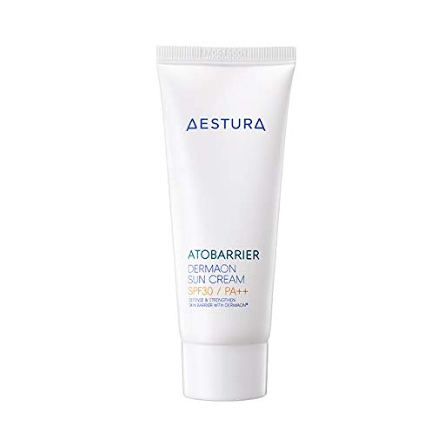 ストライプ一貫性のない有効AESTURA アトバリエ ダーマオン サンクリーム 60ml,SPF30 / PA++ Atobarrier Dermaon Sun Cream