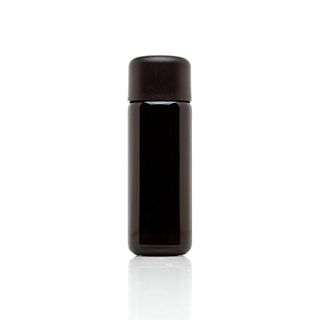 金貸し追放する潜在的なinfinity Jars 50 ml (1.7 FL OZ) ブラック紫外線ガラスSlow Pourボトル