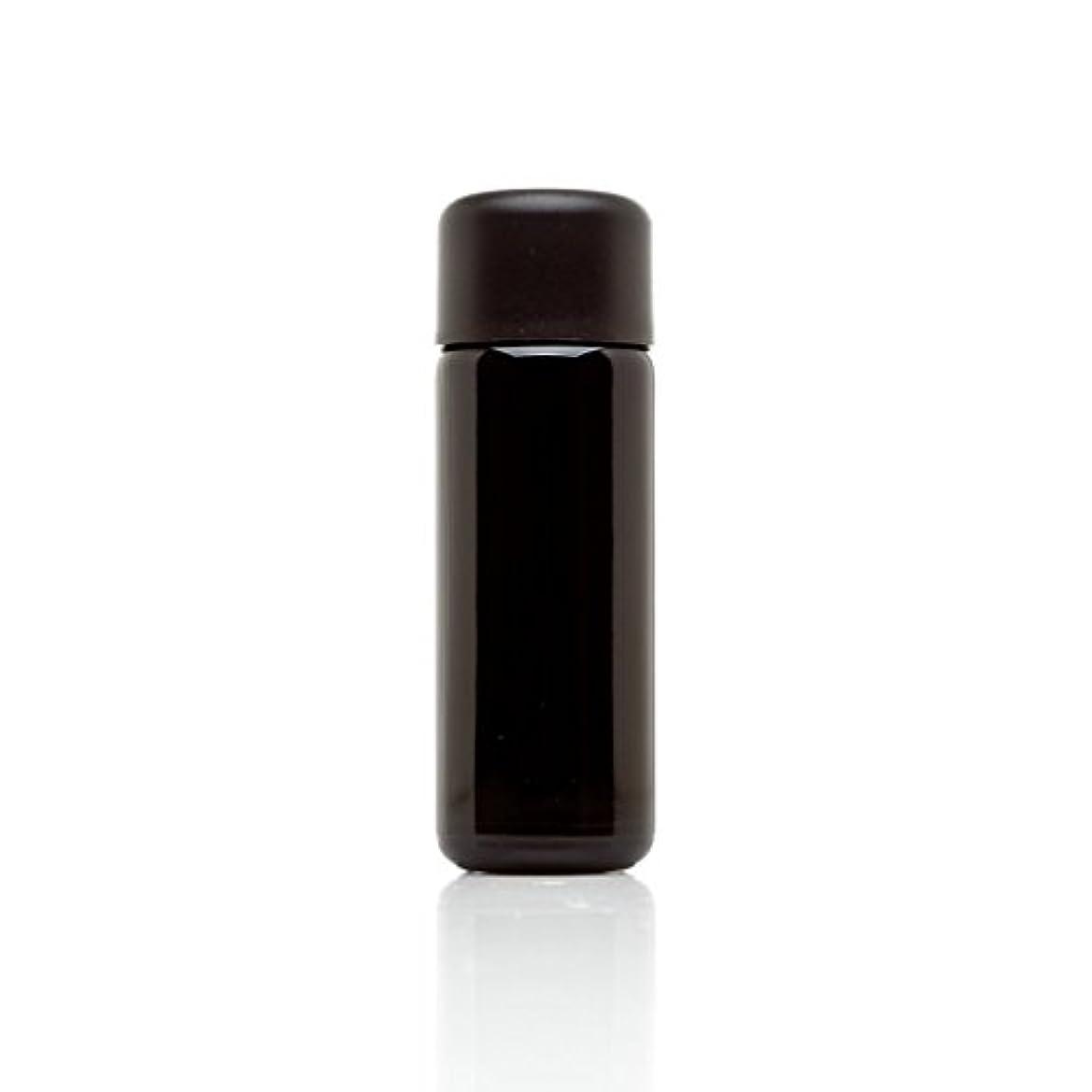 エラー傾向がある余暇infinity Jars 50 ml (1.7 FL OZ) ブラック紫外線ガラスSlow Pourボトル