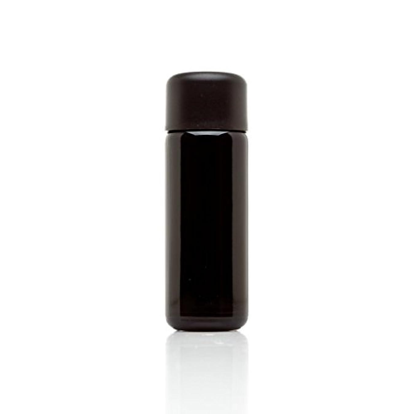 凶暴な例示する溶かすinfinity Jars 50 ml (1.7 FL OZ) ブラック紫外線ガラスSlow Pourボトル