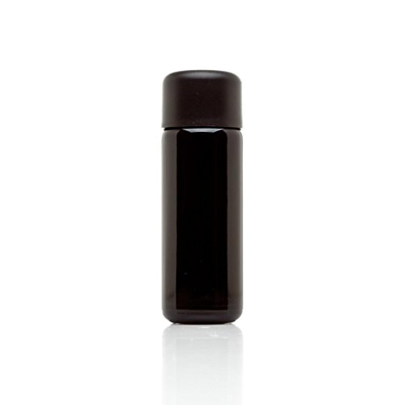 飛行場取り戻す囚人infinity Jars 50 ml (1.7 FL OZ) ブラック紫外線ガラスSlow Pourボトル