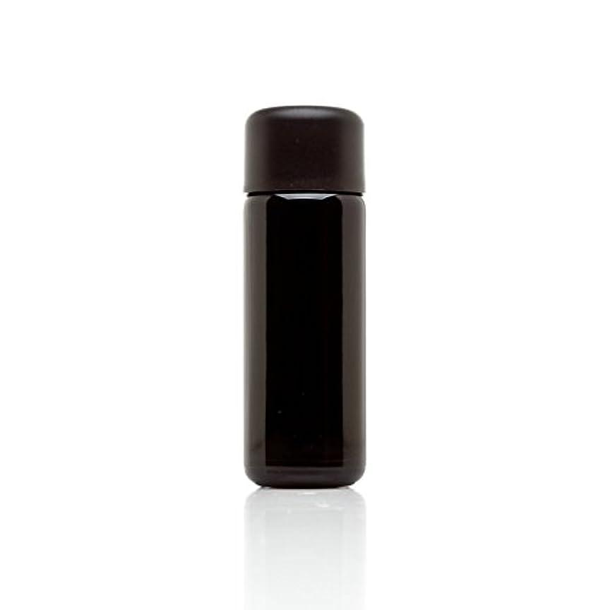グレード外国人同意infinity Jars 50 ml (1.7 FL OZ) ブラック紫外線ガラスSlow Pourボトル