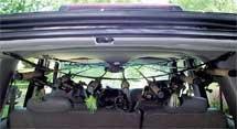ロッドセイバー 車用ロッドキャリアー 7本用 RODSAVER