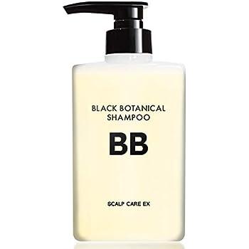 BLACK BOTANICAL SHAMPOO 400ml 育毛シャンプー 普通肌・オイリー肌用 薄毛 抜け毛 シャンプー 頭皮 ふけ かゆみ ボリューム 毛髪にハリ、コシを与える メンズ 男性 女性用 ノンシリコン スカルプ【医薬部外品】