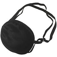 眼帯 アイパッチ アイマスク コスプレ 小道具 斜視 視力検査 黒色