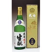 大七酒造 純米生もと 山田錦 特別純米 720ml
