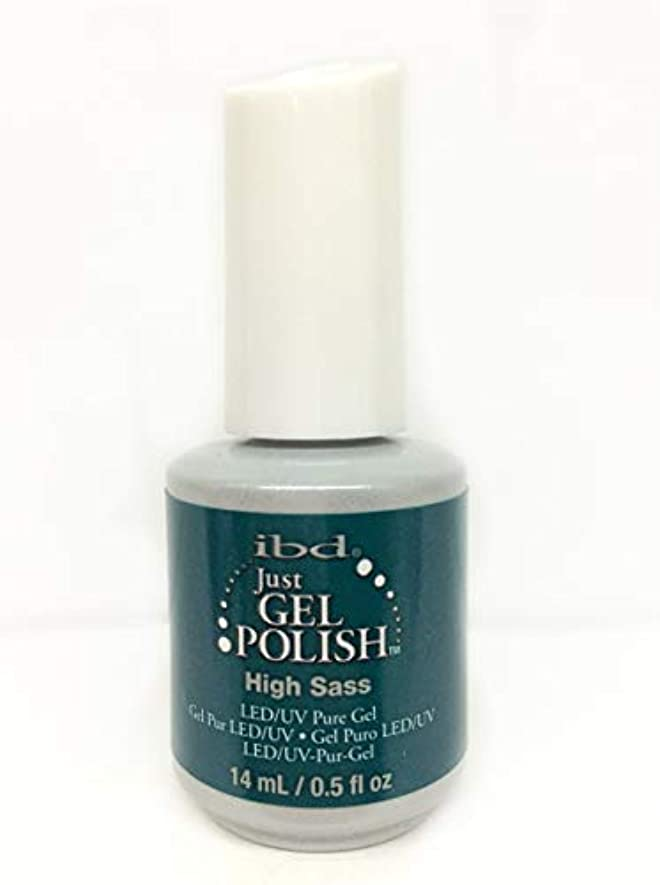 困惑した雨のアルコールibd Just Gel Nail Polish - High Sass - 14ml / 0.5oz