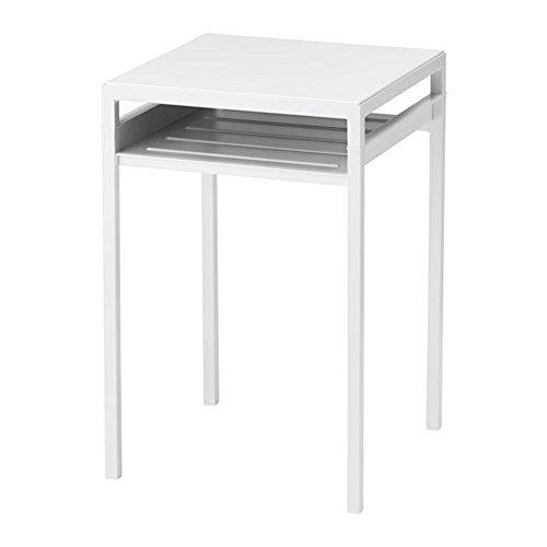 RoomClip商品情報 - IKEA/イケア NYBODA:サイドテーブル/リバーシブルテーブルトップ ホワイト/グレー (403.426.43)