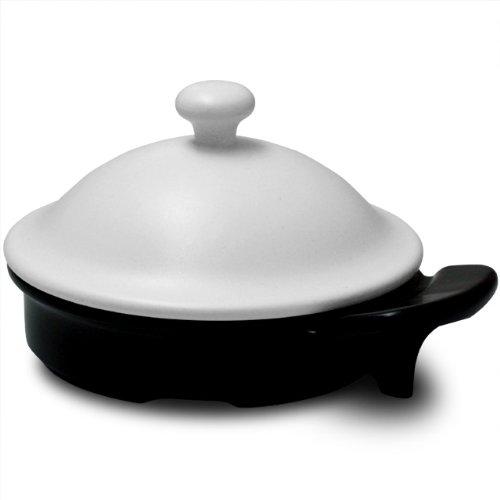 【電子レンジで焼き物調理ができる】不思議な有田焼 ドリームキッチン(ホワイト/ミニ)レシピ付き  ama-741022