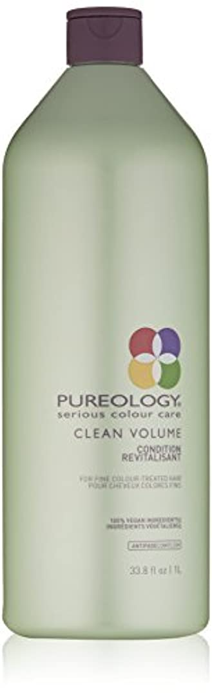 Pureology クリーンボリュームコンディショナー、33.8液量オンス 33.8 fl。オンス 0