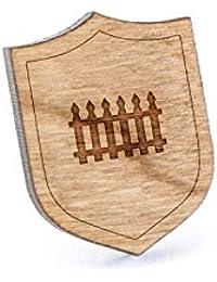 フェンスラペルピン、木製ピンとタイタック|素朴な、ミニマルGroomsmenギフト、ウェディングアクセサリー