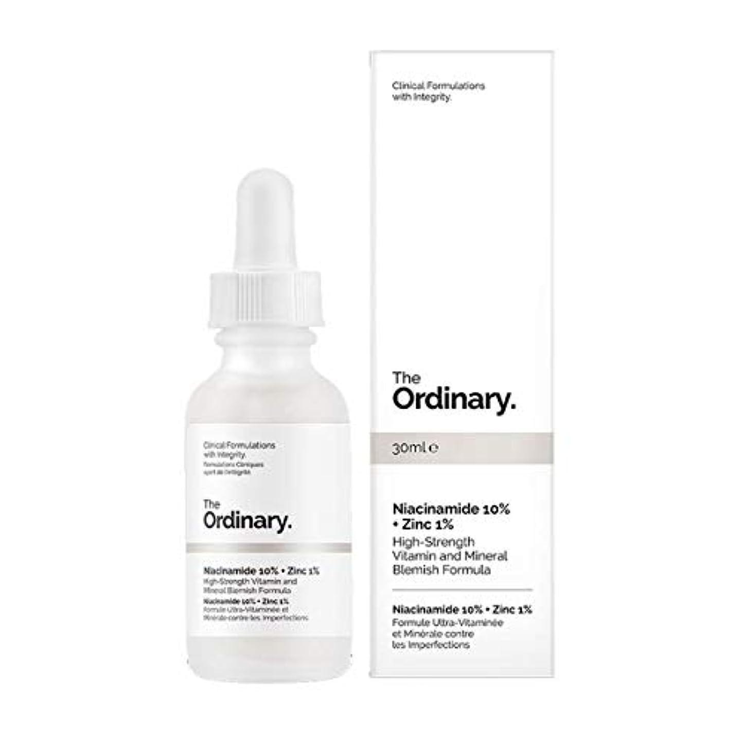 回復する厳ラフThe Ordinary Niacinamide 10% + Zinc 1% 30ml