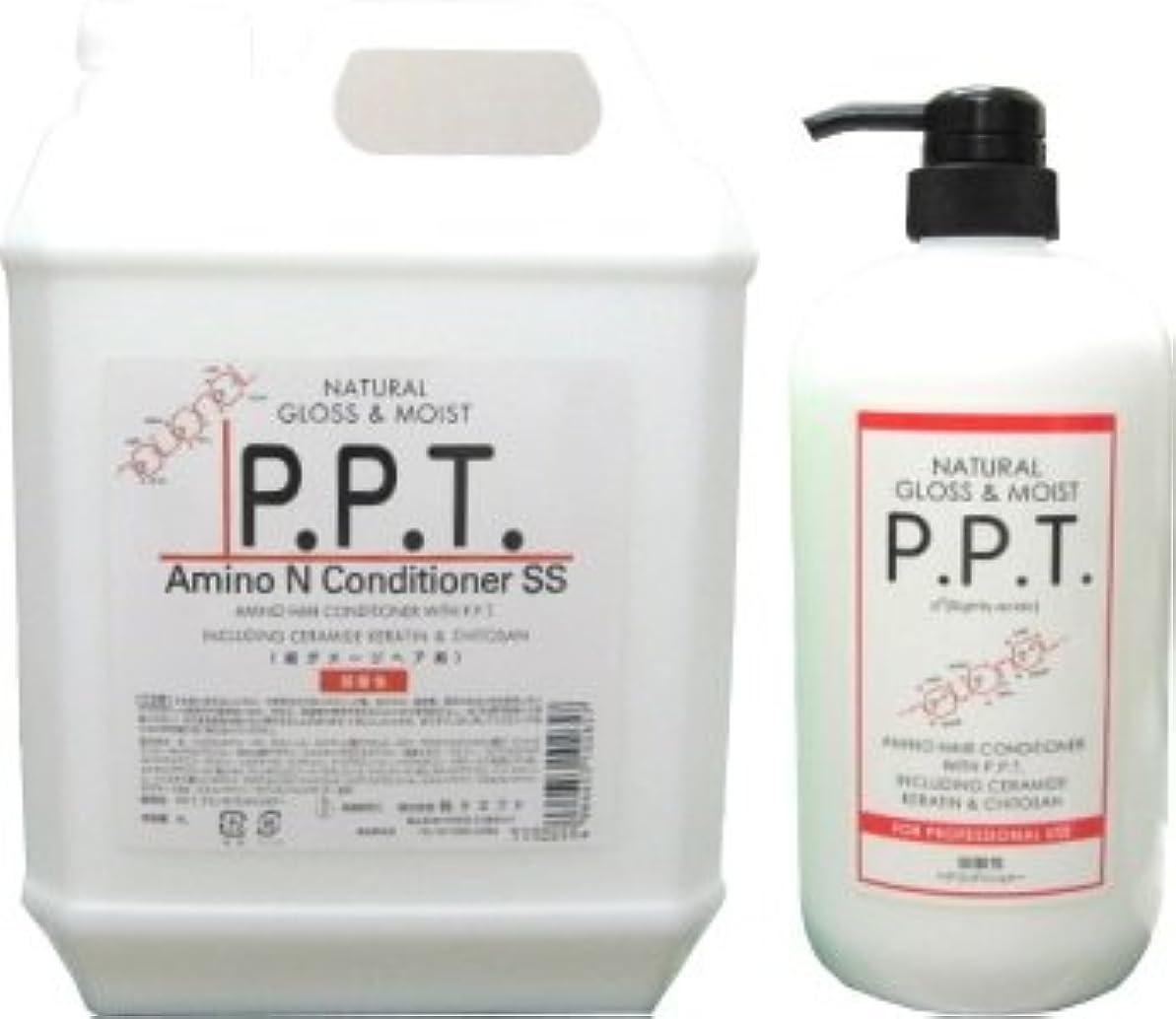 ホイップスパン評価可能純ケミファ PPTアミノコンディショナー 4L+1L (5000ml)