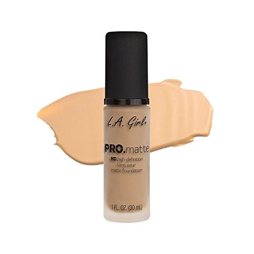 全国背が高い湿気の多い(6 Pack) L.A. GIRL Pro Matte Foundation - Bisque (並行輸入品)