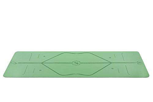 Liforme ヨガマット しっかりしたグリップ 独自の位置マーカーシステム環境に優しい素材と製法 PVCフリー 天然ゴム素材 ラージサイズ