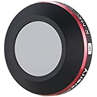 DJI Mavic Proプラチナドローンカメラ用偏光レンズのCPLレンズフィルター(color:黒)