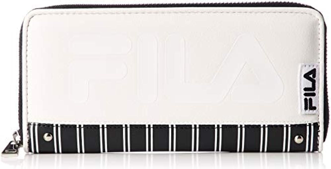 うぬぼれた固めるトレイル[フィラ]ストライプ ラウンド財布