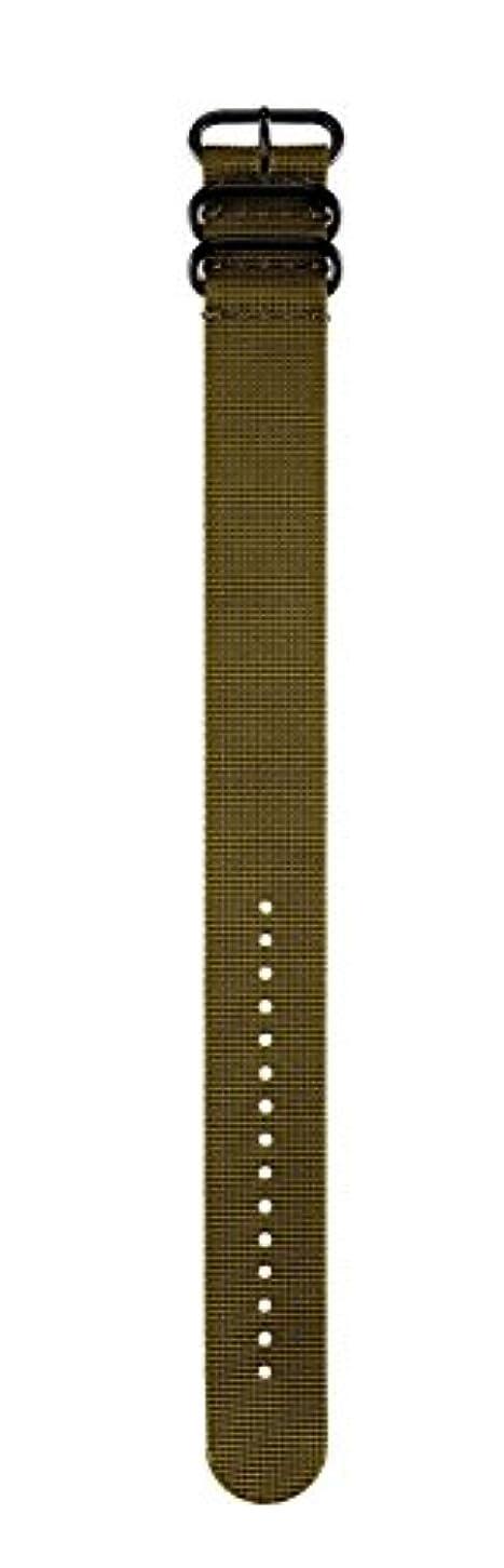 個人的な息を切らして回想GARMIN(ガーミン) ベルト交換キット fenix3J用 ナイロン Olive 1216822