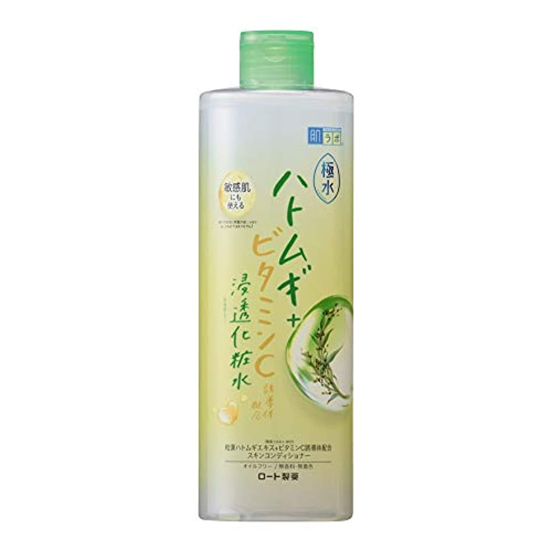 退屈成熟環境肌ラボ 極水ハトムギ+浸透化粧水 400mL