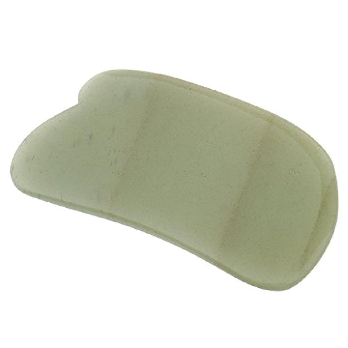 柱やけどドールPerfk カッサ板 美顔 天然石  アベンチュリン カッサボード カッサマッサージ道具 ギフト マッサージ道具  健康ツール 2タイプ選べ  - タイプ1