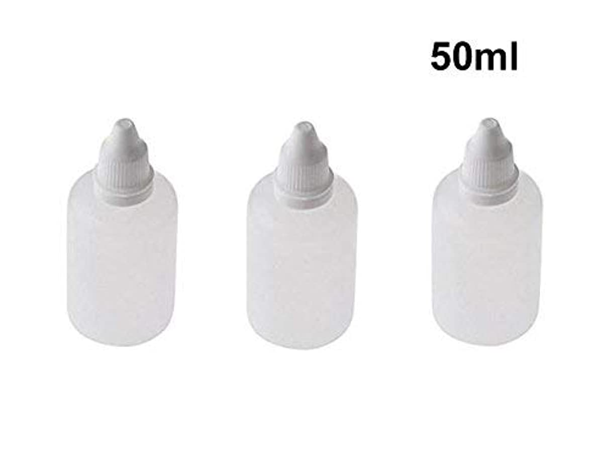 旅行代理店防ぐ真夜中10 Pieces Empty Refillable Plastic Squeezable Dropper Bottles Portable Eye Liquid Vial with Screw Caps and Plugs...