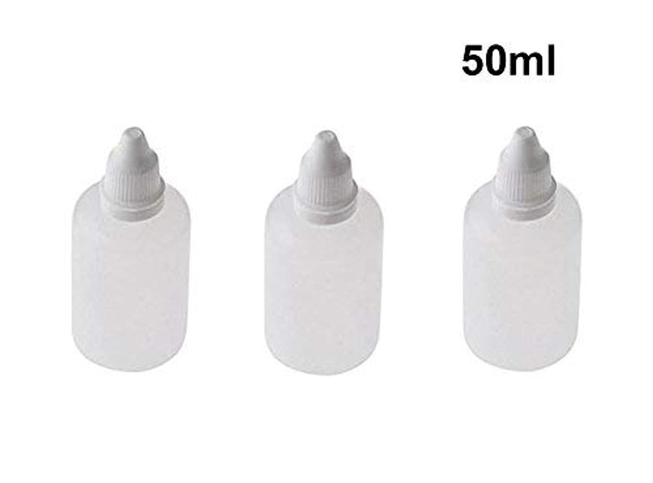 10 Pieces Empty Refillable Plastic Squeezable Dropper Bottles Portable Eye Liquid Vial with Screw Caps and Plugs...