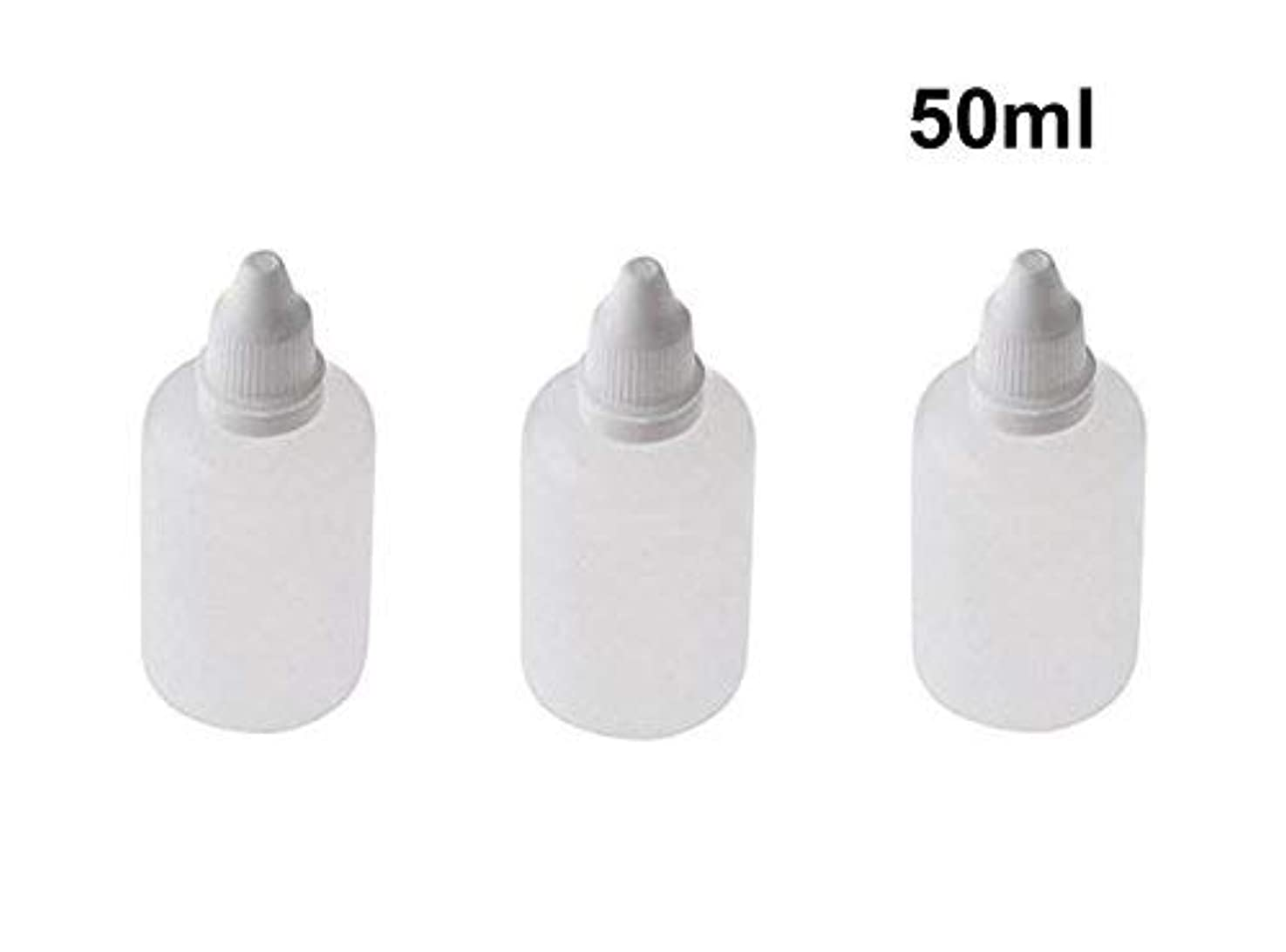 コウモリ増加するガロン10 Pieces Empty Refillable Plastic Squeezable Dropper Bottles Portable Eye Liquid Vial with Screw Caps and Plugs...