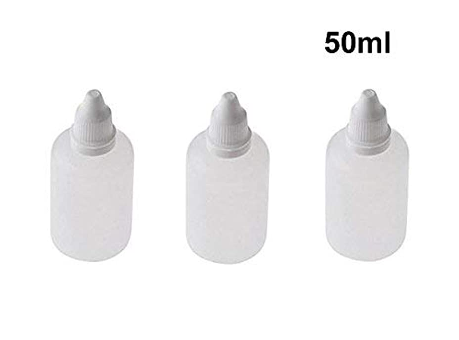 ジャンル明らかに投資10 Pieces Empty Refillable Plastic Squeezable Dropper Bottles Portable Eye Liquid Vial with Screw Caps and Plugs...