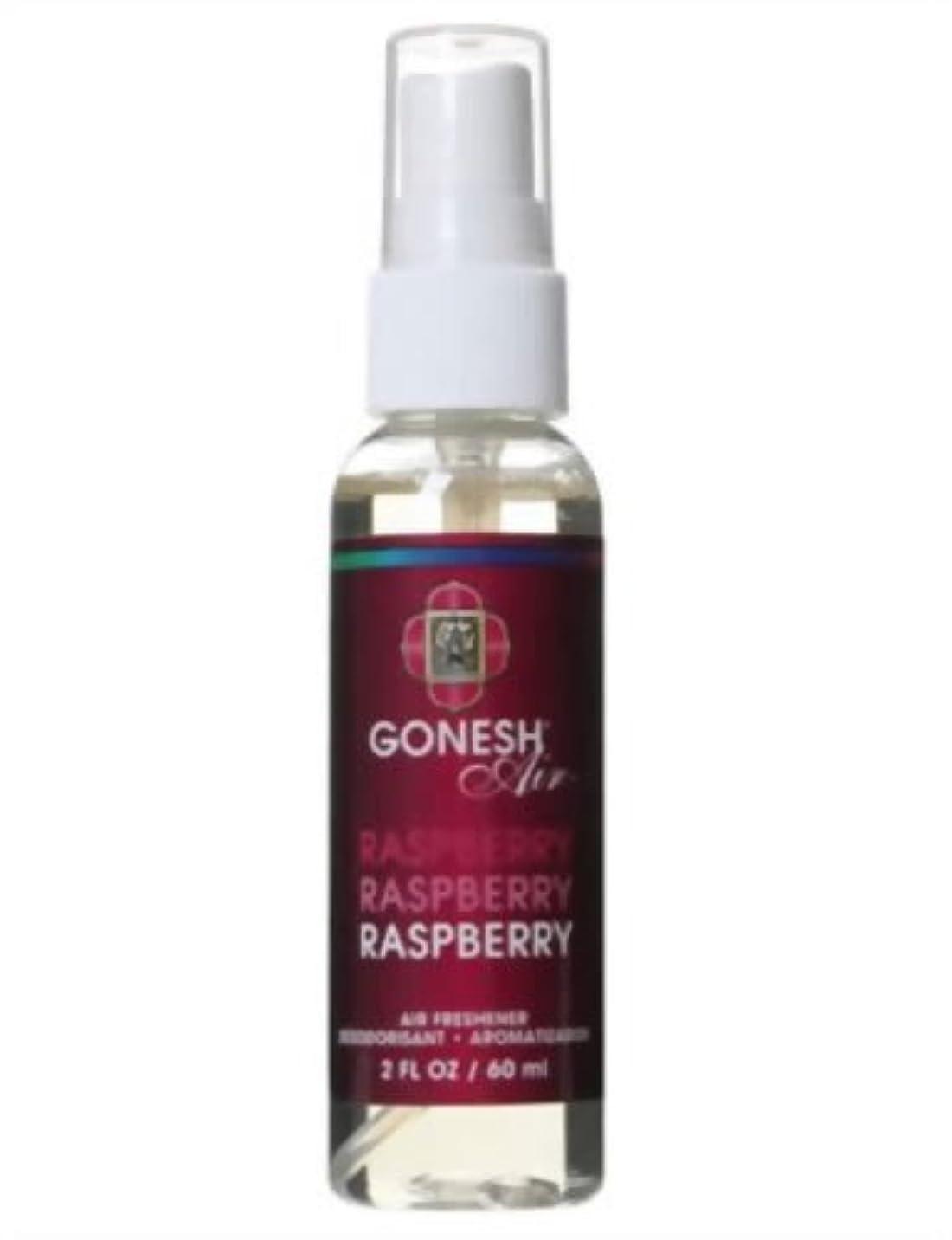 歯科の有能な放射能GONESH(ガーネッシュ)  エアーフレッシュナー ラズベリー 60ml