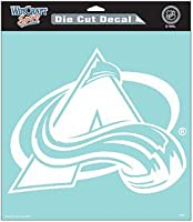 "NHL Colorado Avalanche wcr29615014Perfect Cutデカール、8"" x 8"""